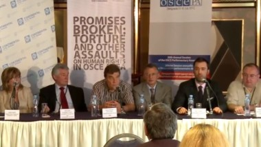 "Joint NGO briefing ""Promises Broken: Torture and Other Assaults on Human Rights in OSCE Area,"" OSCE Parliamentary Assembly in Belgrade, July 7, 2011"